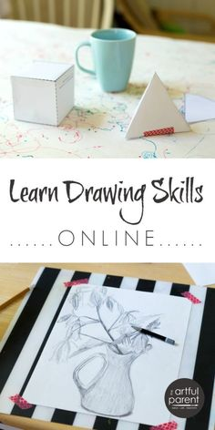 Learning Drawing Skills with an Online Art Class