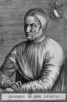 Portrait of Pope Eugene IV - Jean Fouquet