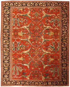 Antique Sultanabad Persian Rugs 43442 Main Image - By Nazmiyal