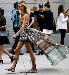 look gladiadora street style