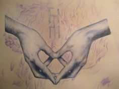 Heart <3 Left is spirit human. Right is spirit cosmos twin. Finding your twin creates a completed being.