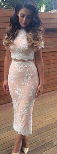 Celebrity brand new 2015 summer women lace embroidery bandage bodycon dress cut out maxi party prom two piece sets dress
