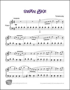The Elementary Music Education Site with Sheet Music, Music Lesson Plans, Music Theory Worksheets and Games, Online Piano Lessons for Kids, and more. Free Piano Sheets, Easy Piano Sheet Music, Violin Sheet, Music Sheets, Free Printable Sheet Music, Free Sheet Music, Piano Songs, Piano Music, Music Music
