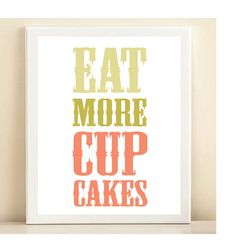 Look what I found on 'Eat More Cupcakes' Wood Wall Art by ArteHouse More Cupcakes, Cupcake Cakes, Cup Cakes, Mini Cakes, Reclaimed Wood Signs, Illustrations, Wood Wall Art, Wall Signs, Word Art