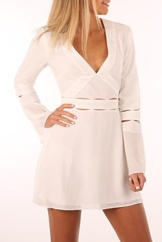 Muse Mini Dress Ivory