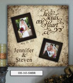 Personalized Wedding Photo Frame OH  20x20 by PhotoFrameKeepsakes, $75.00