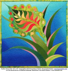 """Feather Flower"" by Caryl Bryer Fallert"