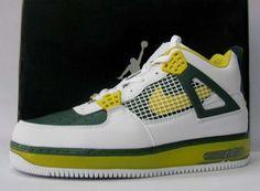 buy online dce3d 78d46 Air Jordan 4 Force Fusion White Dark Green Yellow , Price   72.00 - Jordan  Shoes,Air Jordan,Air Jordan Shoes