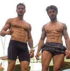 Renan, do BBB 16, com o amigo Marco Rebucci (Foto: Reprodução/Instagram)