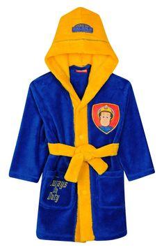 Fireman Sam Bathrobe - BHS #fireman #sam #episodes Fireman Sam, Events, Nice, Children, Christmas, Gifts, Infants, Yule, Presents