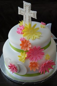 First Holy Communion - by SuiteCakesLasVegas @ CakesDecor.com - cake decorating website