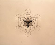 Metatron's cube - The gridwork of our consciousness and the building blocks of creation / sacred geometry /