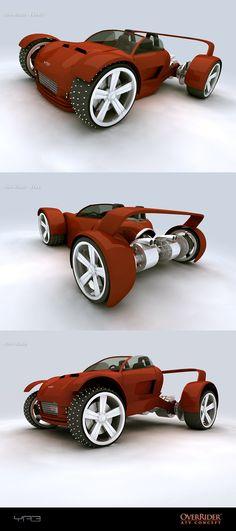 #JustFutureWheels. #FutureCars. Prototype 5