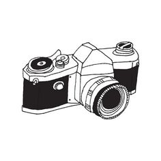 With scrumptious colors and a bubbly, hand-drawn style, this rendering of an instant camera is just spot on. Sure to be a favorite of both kids and photo enthusiasts alike.
