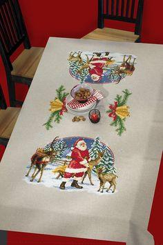 Kustom, Cross Stitch, Advent, Noel, Rowan, Colorful Flowers, Ceilings, Embroidery, Threading