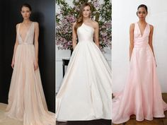 """These blush-colored #weddingdresses are beautiful to say """"I do"""" in!"""