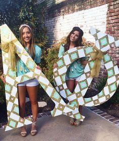 Alpha Phi at Sacramento State University #AlphaPhi #APhi #BidDay #letters #sorority #SacState