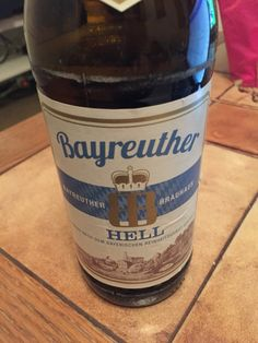 #Bayreuther Hell #beer #germany Beers Of The World, Beer Brands, Germany, Container, Brow Bar, Beer, Deutsch