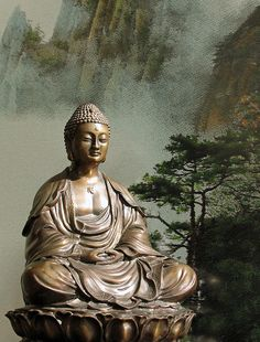 Buddha resting in the peace of equanimity