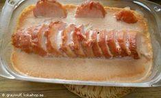 Kassler i Ugn Sausage, Bread, Food, Sausages, Essen, Breads, Baking, Buns, Yemek