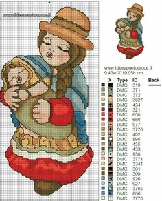 Christmas Projects, Cross Stitching, Nativity, Alphabet, 1, Embroidery, Fictional Characters, Crossstitch, Camilla