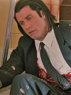 Vincent Vega is a character in Quentin Tarantino's Pulp Fiction, portrayed by John Travolta in an Ac. The Best Films, Iconic Movies, Quentin Tarantino Pulp Fiction, Movie Special Effects, Mia Wallace, Pop Culture References, John Travolta, Comedy Films, Cultura Pop