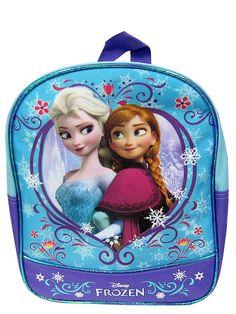 Frozen-kerhoreppua sulostuttavat Frozen-elokuvan siskokset. Metallinhohtoiset reunanauhat tuovat reppuun ihanaa säihkettä. Koko: 29 x 23 x 8 cm.