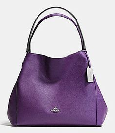 COACH EDIE 31 SHOULDER BAG IN CROSSGRAIN LEATHER #Dillards