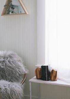 A dreamy corner with @wearemfeo mirror and bookends. #StyleItShootItShareIt