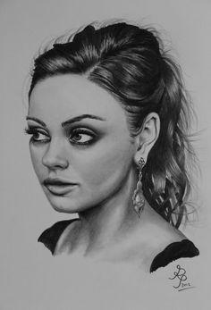 Mila Kunis by P-M-Rt.deviantart.com on @deviantART