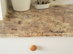 The Common Cents Home- Tehachapi CA Home Cleaning and Professional Organization: Painting Laminate Countertops