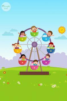 Vector Animation, Flash Animation, Funny Cartoon Characters, Cartoon Gifs, Kids Background, Cartoon Background, Animation Career, Falling Gif, School Age Activities
