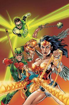 Justice League by Julián López