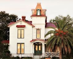 The Pippi Longstocking house in Old Town, Amelia Island, Florida
