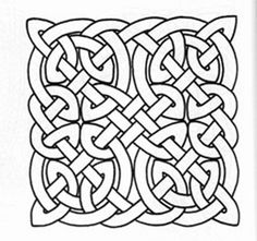 find here the collection of celtic knot patterns as free and printable patterns - Celtic Knot Coloring Pages