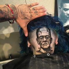 Awe-Inspiring Portraits of Celebrities in Haircuts by Rob Ferrel.|CutPasteStudio| Illustrations, Entertainment, beautiful,creativity, Art,Artist,Artwork, drawings, Paintings, haircuts, fashion.