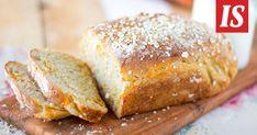 Tarun maukkaan vuokaleivän ohje kannattaa ottaa talteen. Savoury Baking, Banana Bread, Recipies, Treats, Cooking, Desserts, Recipes, Sweet Like Candy, Cucina