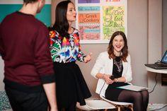 Workshops for future brides and grooms - it's also lots of fun! / Na spotkaniach dla przyszłych Par Młodych jest konkretnie, ale też bardzo wesoło