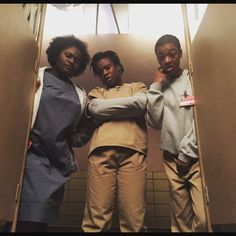 Orange is the New Black - Taystee, Crazy Eyes, and Poussey