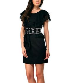 Take a look at this Black Over Dress - Women & Plus by Almatrichi on #zulily today!