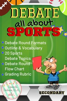 Debate Topics All About Sports Secondary Public Speaking