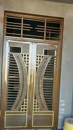 orte 3 ART DECO panels, lacquered with joint cover set … – Door Ideas Wooden Front Door Design, Front Gate Design, Main Gate Design, House Gate Design, Door Gate Design, Grill Gate Design, Steel Gate Design, Window Grill Design, Door Design Images