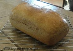 Going to try and make this bread. Need: 3 cups warm water, 1/3 cup oil, 1/3 cup honey, 1 1/2 tablespoon yeast, 1 tablespoon salt, 8 cups flour (i'd mix 1/2 wheat, 1/2 white flour) or however you prefer it.  Easy steps. Enjoy!!