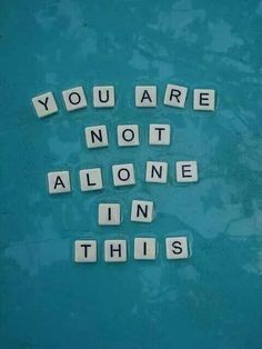 Ovarian Cancer Awareness ~ YOU ARE NOT ALONE IN THIS