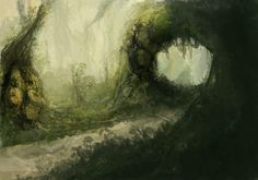 jungle painting - Recherche Google