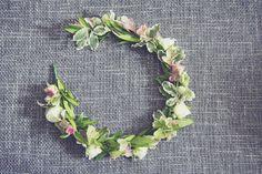 Pretty Floral Midsummer Wedding Flowercrown http://esmeduckerphotography.com/