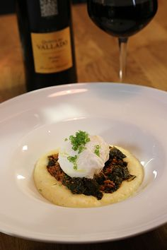 portuguese -chef-david-santos-louro-restaurant-poached-duck-egg-amarello-grits-chourico-kale-quinta-de-valdao/