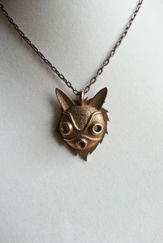 San's Mask 3-D Printed Necklace | 47 Insanely Adorable Studio Ghibli Items You Need Immediately