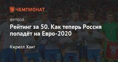 Сборная России упала ниже 50 места в рейтинге сборных ФИФА - Чемпионат.com