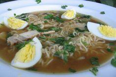 Hawaiian Saimin Soup. Photo by K9 Owned